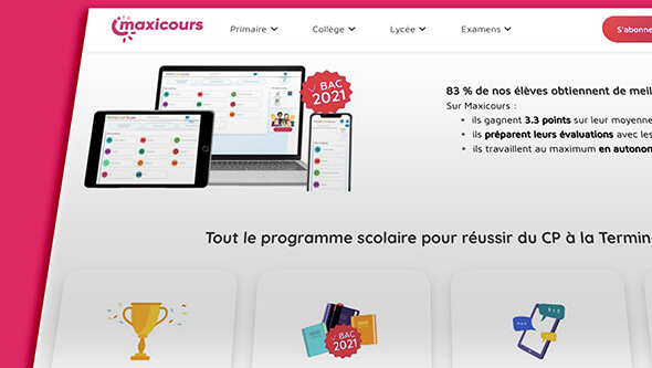 site maxicours